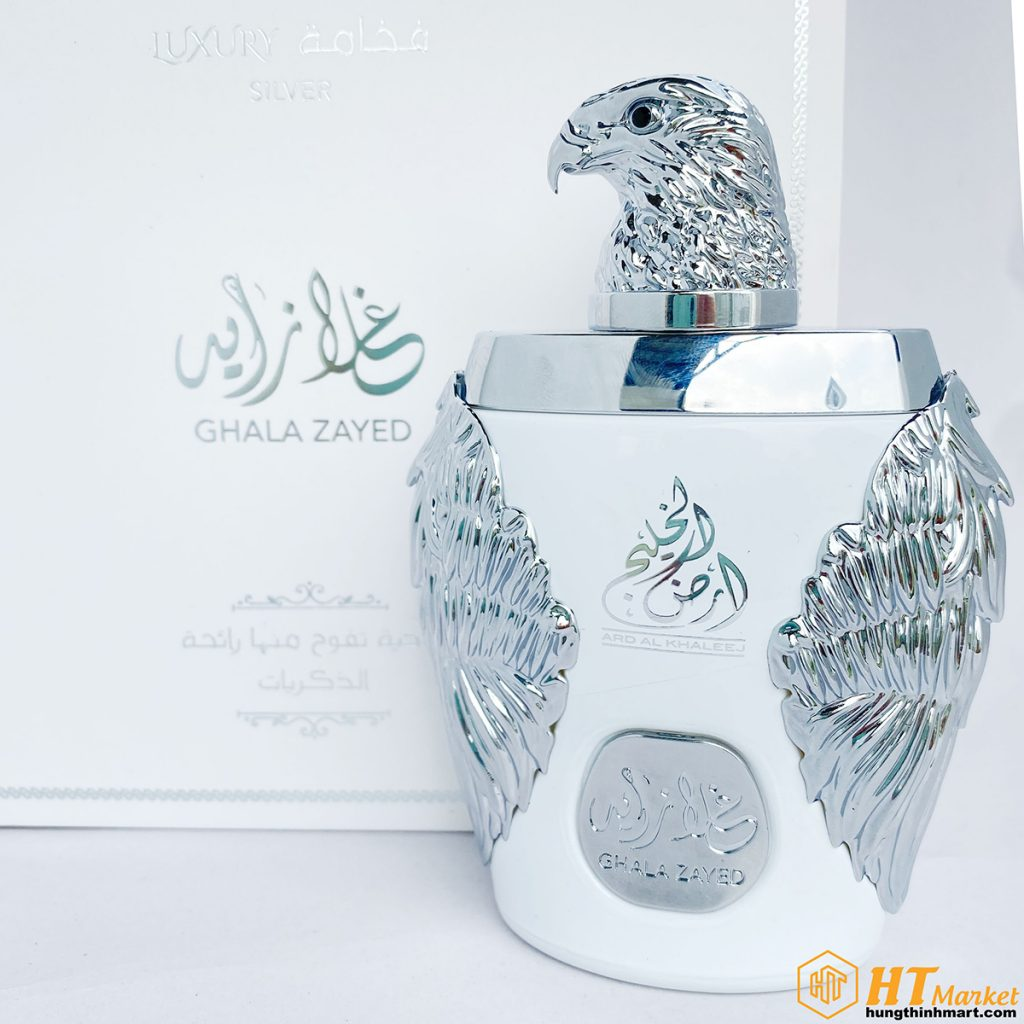 Nuoc hoa Dubai Ghala Zayed Luxury White