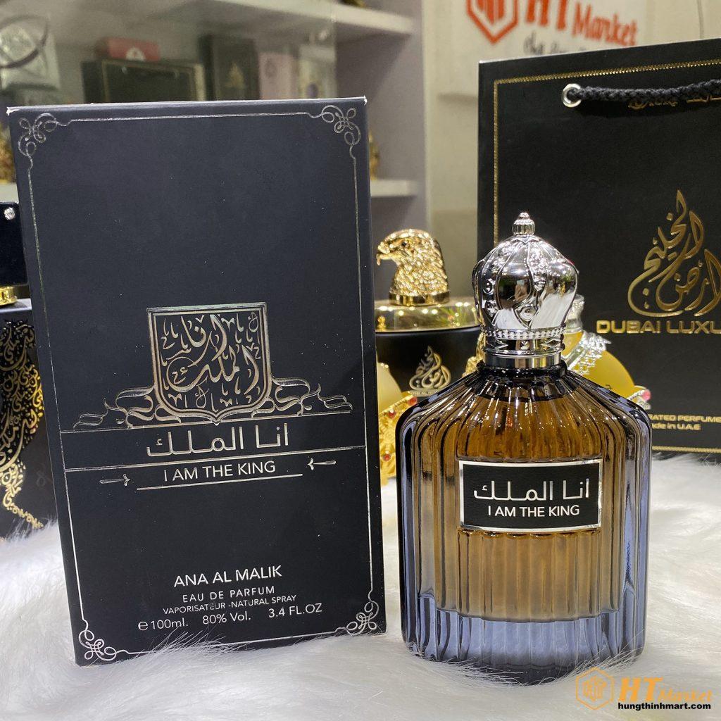 Nước hoa Dubai nam tính sang trọng I Am The King (Ana Al Malik) 100ml HT Market