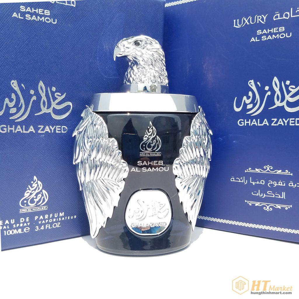 Nước hoa Ghala Zayed Luxury Silver