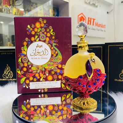 Tinh dầu nước hoa Dubai Attar Al Diwan ngọt ngào