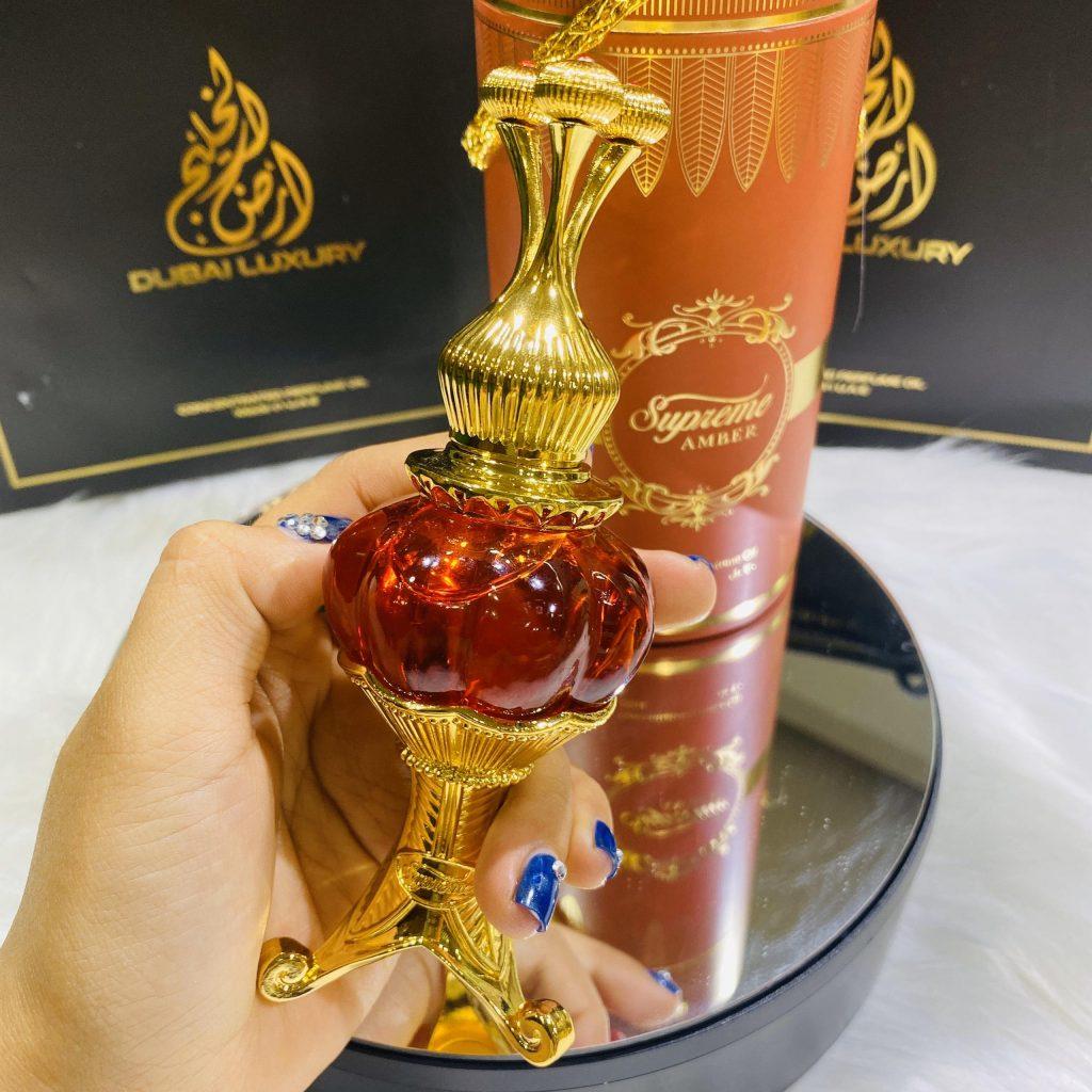 tinh dau nuoc hoa dubai supreme amber