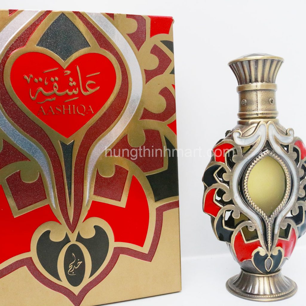 Tinh dầu nước hoa Dubai Aashiqua sang trọng