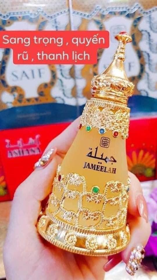 Tinh dầu nước hoa Dubai Jameelah quyến rũ